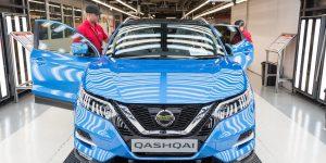Production of new Nissan Qashqai begins