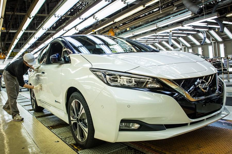 Nissan Leaf производство