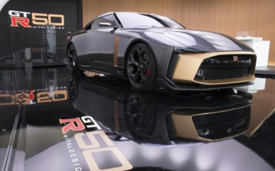 Суперкар Nissan GT-R50